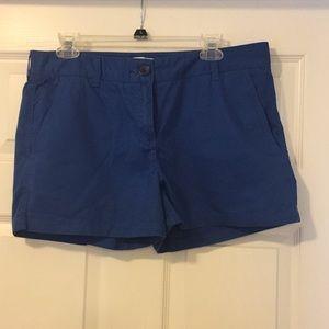 Blue short, size 10